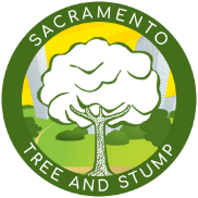 Sacramento Tree and Stump logo.